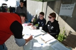 CSPF staffers get volunteers signed in