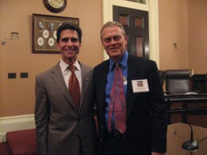 I had the chance to meet with Senator Mark Leno at Park Advocacy Day in 2011.
