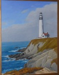 (SOLD) #49 Pigeon Point Light Station