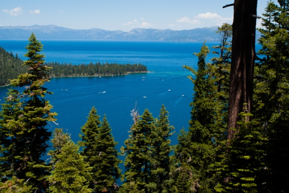Emerald Bay State Park, photo © Claire Toney